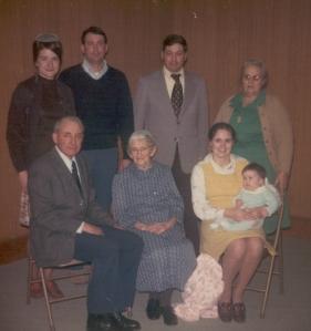 Family withgrandma Hertzler -1975