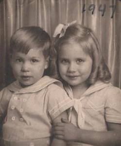 Oliver & Judy-Jan 1947
