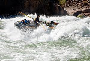 white water raftin
